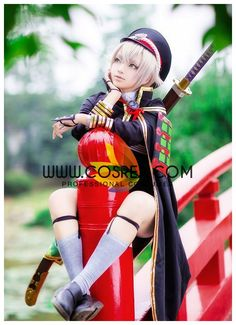 Costume Detail Touken Ranbu Hotarumaru Costume Set Includes - Top, Shorts, Hat, Cape We may have selected store sizes for this costume, ready for fast ship. Please check with us on availability and ap