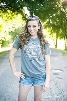 NEW Well Bless Your Heart - Southern T-Shirt by Ruby's Rubbish $24