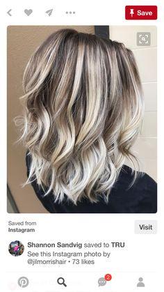 15 Frisuren Dunkelblonde Haare Mit Strähnen Hair Pinterest