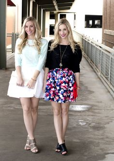 Spring Style at Express Factory | Fashion Column Twins