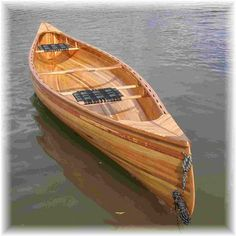 Tandem Wood canoe headed to great lakes