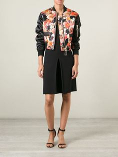 Givenchy floral bomber jacket