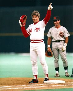 Pete Rose all time hit leader in baseball. Banned for life for betting on baseball. Didn't fix games! He played the game hard and clean. His ban should be lifted. Players today are using drugs to play better and get a smack on the hand.
