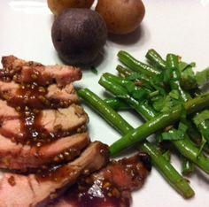 Maple Date Pork Tenderloin