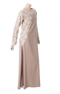 Lace overlay abaya. Loooove lace!