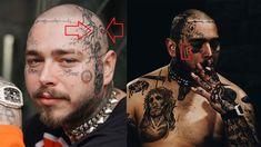 Post Malone, Tattoos, Movies, Movie Posters, Tatuajes, Films, Tattoo, Film Poster, Cinema