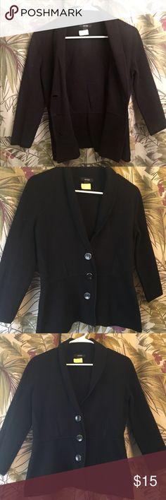 Alfani Black Sweater Size Small! Perfect condition sweater - size small - Alfani brand. It was dry cleaned after use Alfani Sweaters