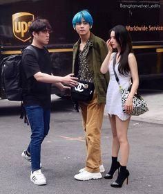 Aesthetic Themes, Aesthetic Photo, Irene Kim, Bts Girl, Kpop Couples, Couple Goals Relationships, Girl Couple, Bulletproof Boy Scouts, Sooyoung