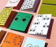 Unsere superduper Augenstempel sind da: Perlenfischer X WLKMNDYS Snack Pack, Diy Inspiration, Corporate Identity, Editorial Design, Branding, Posters, Illustrations, Paper, Projects