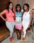Monyetta Shaw, Quad Webb-Lunceford and Toya Wright Attend the Beauty Is Love Lounge
