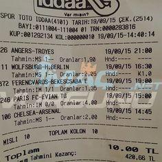 19 Eylül 2015 Tutan Maçlar: macvurgunu.net -  #iddaa #maç #tahmin #tuttu #iddaatahminleri #trabzonspor #macvurgunu #mackolik
