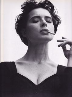 Isabella Rossellini biography, images and filmography. Read and view everything you want to know not only about Isabella Rossellini, but you can pick the celebrity of your choice. Isabella Rossellini, Roberto Rossellini, Audrey Hepburn, Anthony Kiedis, Ingrid Bergman, Italian Actress, Steven Meisel, Portraits, Freddie Mercury