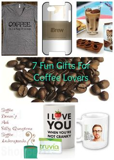 Funny Coffee Gifts For The Coffee Lover