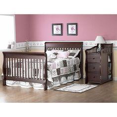The Sorelle Princeton 4 in 1 Convertible Crib