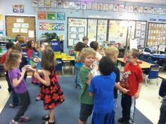 Kindergarten Stars: Quiz Quiz Trade with Syllables/math facts/etc