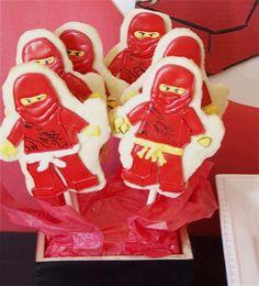 DIY these incredible Ninjago Sugar Cookies