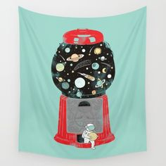 Buy My childhood universe Wall Tapestry by I Love Doodle. Worldwide shipping available at Society6.com. Just one of millions of high quality products available.