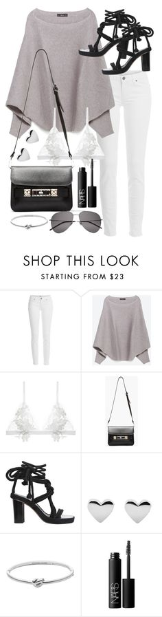 """Untitled #19722"" by florencia95 ❤ liked on Polyvore featuring Paige Denim, Zara, For Love & Lemons, Proenza Schouler, Isabel Marant, Michael Kors, NARS Cosmetics and Yves Saint Laurent"