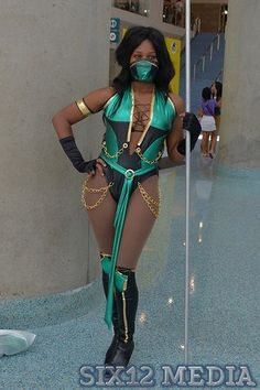 Jade - Mortal Kombat- Sexy Costume -- Video Game - Perfect for Halloween - Cosplay - Full costume or Pattern Mortal Kombat Halloween Costume, Mortal Kombat Costumes, Halloween Cosplay, Halloween Halloween, Halloween Outfits, Cosplay Outfits, Cosplay Girls, Cosplay Costumes, Lucina Cosplay