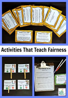 Fairness is an important character trait for children to develop. The activities in this fairness character education bundle teaches kids how to explore issues related to fairness, Identify fair and unfair situations, and brainstorm ways they can show fai