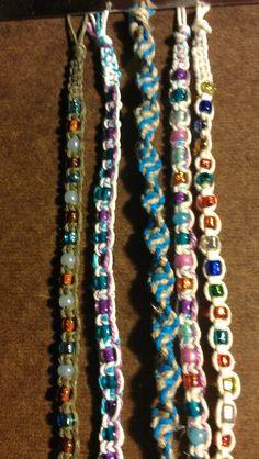 Braclets DIY I did!
