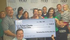 Here is the check presentation to the Central IL Fragile X Foundation.  Our 80's Prom Fundraiser was a huge success!