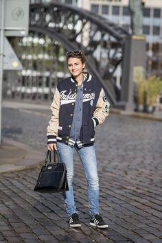 Hamburg street style captured by Tommy Hilfiger. http://on.fb.me/1i1qiuH