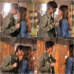 CNBLUE's Minhyuk kiss scene from KBS's weekend drama, 'You Who Rolled In Unexpectedly' #allkpop #kpop #CNBLUE