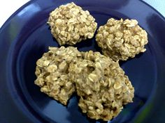 Kimberly's #GlutenFree Applesauce Oatmeal Cookies. May not look pretty but taste delicious!