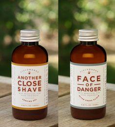 Shave Gel & Aftershave Set by Fieldworks Supply Company on Scoutmob Shoppe Best Shaving Cream, Cool Packaging, Innovative Packaging, Groomsmen Proposal, Shave Gel, Wet Shaving, Men's Grooming, Bottle Design, Packaging Design Inspiration