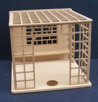 dolls-house-miniature 24 trellis garden