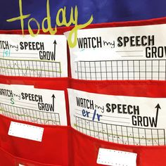 Let your students track their OWN speech and language progress! You'll be amazed how invested they become!