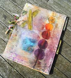 Travel Journal-Art Diary-Eclectic Design| Serafini Amelia| Coffee Art Journal