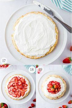 Strawberry Shortcake - an Easy Dessert recipe   Boulder Locavore® Fresh Strawberry Pie, Strawberry Filling, Strawberry Cakes, Strawberry Shortcake, Impressive Desserts, Easy Desserts, Dessert Recipes, Sweet Whipped Cream, Whipped Cream Frosting