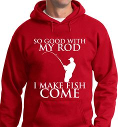 Quality Hoodies and tees..Click here http://zapbest2.myshopify.com/collections/hobby/products/fishing-rod Made just for you! Printed in USA Fast Shipping! In Stock.