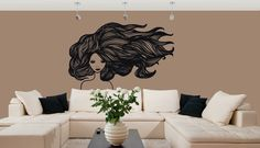 Te presentamos nuestro nuevo modelo FH290 en Negro. Una mujer con mucho cabello flotando con el viento, muy artistico y con muchos detalles....