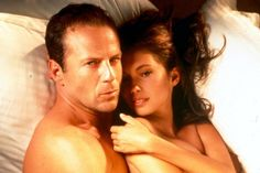 Bruce Willis Went Full Frontal On Film Bruce Willis, L Amant Film, Adam Sandler, Love Movie, Movie Tv, Movies To Watch, Good Movies, Jane March, Movie Hacks