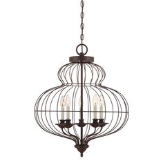 Laila 5-Light Candle-Style Chandelier & Reviews | AllModern