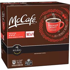 McCafe Premium Roast Coffee KCups 18 KCups *** Click image for more details.