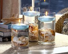 Candles by the Sea