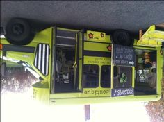 Not a food truck, but the same idea: ARTichoke, a mobile boutique.