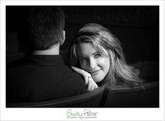 Emily + Pete: Wedding Photographers Spirit. Spontaneity. Harmony. www.emily-pete.com Lawrence. Kansas City. Beyond.  Downtown Lawrence Engagement Session Liberty Hall Movies