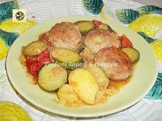 Polpette di carne e verdure miste in padella  Blog Profumi Sapori & Fantasia