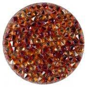 Joya Swarovski Crystal Gold:Red