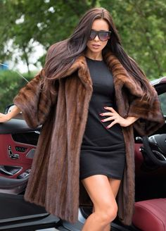 NEW SUPERIOR MINK FUR COAT CLAS OF SABLE LONG JACKET CHINCHILLA FOX PONCHO VEST | Clothes, Shoes & Accessories, Women's Clothing, Coats & Jackets | eBay!