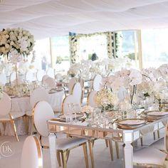 Flawless beauty | Wedding Planner/Stylist @dianekhouryweddingsandevents | florist @johnemmanuelfloralevents | decor hire @harboursidedecorators | draping @decorativeevents | bespoke linen @eventsbynadia | chandeliers @chandelierstodiefor | photography @blumenthalphotography | videography @sodafilms #dianekhouryweddingsandevents #weddingplanner #white #gold #weddingplanner #marqueewedding #operapointmarquee #trsayido #dkevents #luxuryweddings #white #luxe