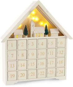 North Pole Trading Co. Nordic Frost Christmas Town Advent Calendar North Pole Trading Co. Afflink.