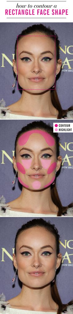 Contouring and highlighting are like chocolate syrup and vanilla ice cream: best together. Figure out which contouring plan is right for you based on your face shape with these amazing guides.