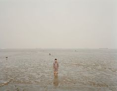 "Mouth IV, Shanghai. From the series ""Yangtze, The Long River"" © Nadav Kander. Courtesy Flowers Gallery."