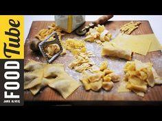 How To Make Pasta Shapes | Jamie's Comfort Food | Gennaro Contaldo - YouTube